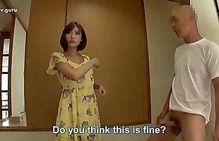 karısı yemek yaparken Japon adam karısının arkadaşı lanet