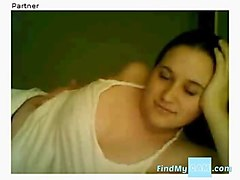 chatroulette - hot argentinian playing with herself