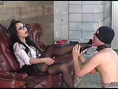 japanese dominatrix youko boot and foot worship