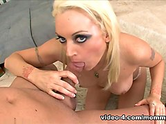 Exotic pornstar Monica Mayhem in Horny Blonde, Swallow porn scene