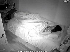 hot-sex-photos.com - Girl masturbates before sleep