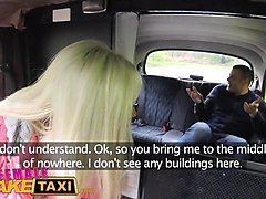 female fake taxi tourist creampies and gets a wet pussy