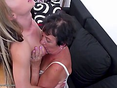 old grannies lick and fuck young cute girls