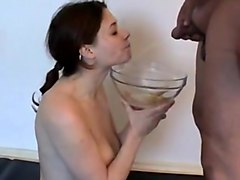 Good swallowing piss