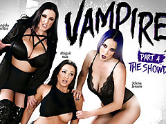Abigail Mac & Jelena Jensen & Angela White in VAMPIRES: Part 4: The Showdown - GirlsWay