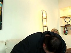 trashy looking anus of layla price is impaled on hard dick