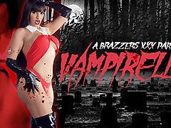 Mercedes Carrera & Michael Vegas in Vampirella: A XXX Parody - Brazzers