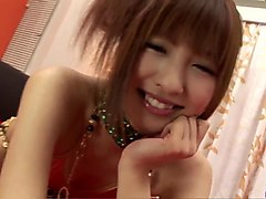 kotone aisaki gets two men to fuck her big time