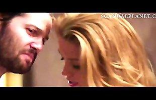 Amber Heard Lingeire Scene from '_London Fields'_ On ScandalPlanet.Com