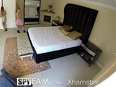 spyfam stepdaughter kenzie reeves caught with girlfriend