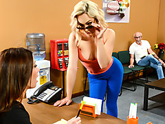 Lily Labeau & Michael Vegas in The Impatient Patient - Brazzers