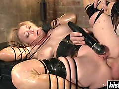 mature darling in bdsm hardcore fuck