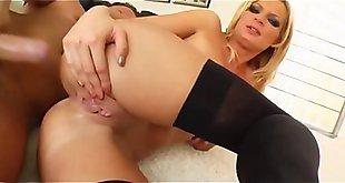 Hot MILFs anal debut