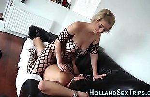 Dutch whore pussy eaten