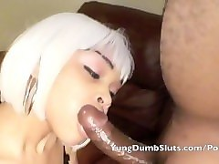yung red slut gets whored out good
