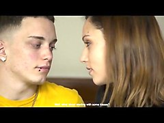hipster teen cuckold threesome