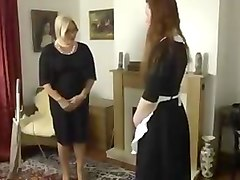 Apologetic maid gets punished pt. 1