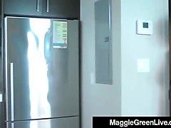 adult film star maggie green gets messy with sundae mix & gf