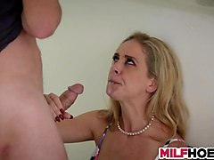 hot mom fucks stepdaughters boyfriend