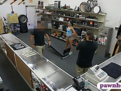 Gym trainer gets pounded at the pawnshop