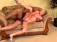 Incredible pornstar Cameron James in crazy interracial, facial adult scene