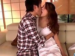 nana ninomiya, hot wife, amazes hubby with full porn