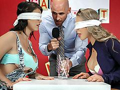 Nicole Aniston & Peta Jensen & Johnny Sins in Game Night Shenanigans - Brazzers
