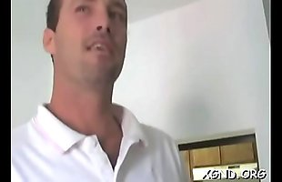 Toying with a frisky hotty next door caught on film