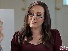 Abigail insists that Sinn WISHES she was a stripper!