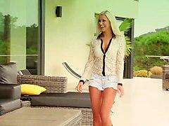 lesbian fun in an empty house - lola a, lorena garcia