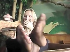 Fabulous homemade Foot Fetish, Fetish sex scene