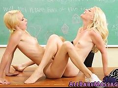 blonde lesbians tribbing