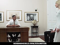 mormongirlz - teen have to masturbate in bishops office