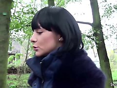 german scout - petite lullu seduce to fuck on berlin street