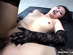 Evelyn Lin in Thirsty For Her Juice - Hustler