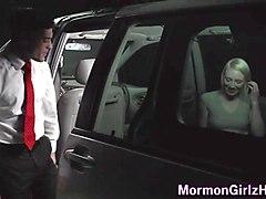 Mormon amateur fucked