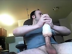 Big Sicilian Dick Fucking Fleshlight Again With Music