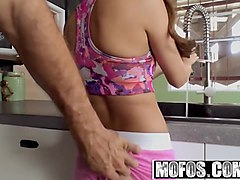mofos - latina sex tapes - all natural cutie with pigtails s