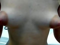 puffy nips closeup