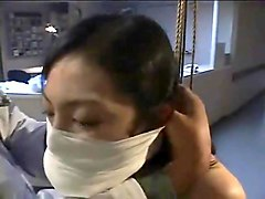 arimi mizusaki is bound, gagged and whipped until she cries