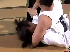japanese female judo master defeated and xoxo