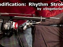 fucking machine modification: rhythm strokes