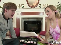 pink pussy mouth acquires banged by massive strapon