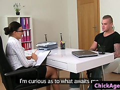 euro casting agent cocksucking in audition