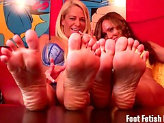 get a big sniff of both your roommates sexy feet