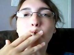 elizabeth douglas age 18 learning to smoke virginia slims