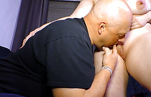 AMATEUR EURO - Horny Housewife Sylvie Cheat Husband With BFF