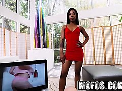 mofos - ebony sex tapes - sarah banks - twerk it sarah banks
