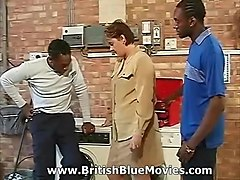 british interracial house wife