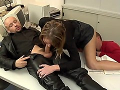 office sex - awesome oral skills
